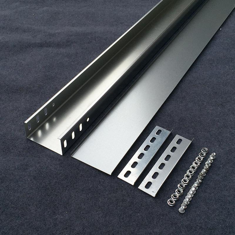 耐坚 金属线槽电缆明线桥架弱电桥架槽式镀锌铁线槽