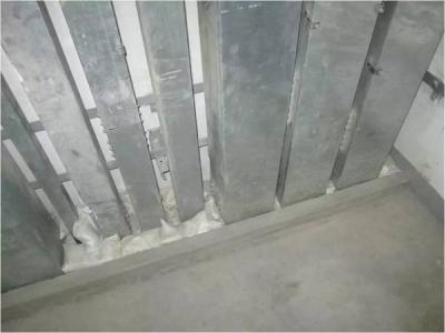 线槽、电缆桥架、母线槽安装施工工艺标准