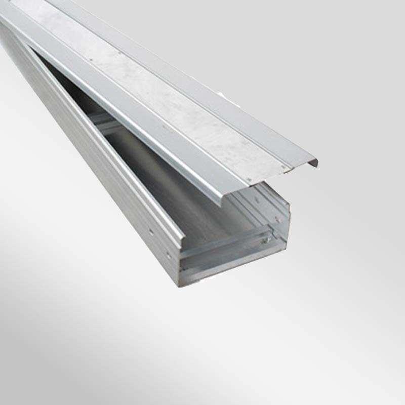 昆明槽式镀锌电缆桥架线槽 金属弱电100*50国标桥架 规格齐